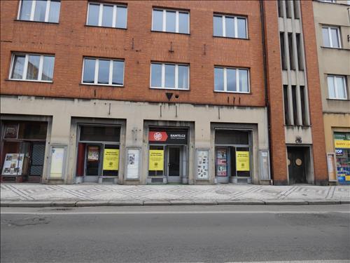 Pronájem nebytového prostoru o podlahové ploše 102,9 m v č. p. 99, ulici Dr. E. Beneše ve Slaném